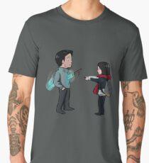 Cute Goblin Sword Scene Men's Premium T-Shirt