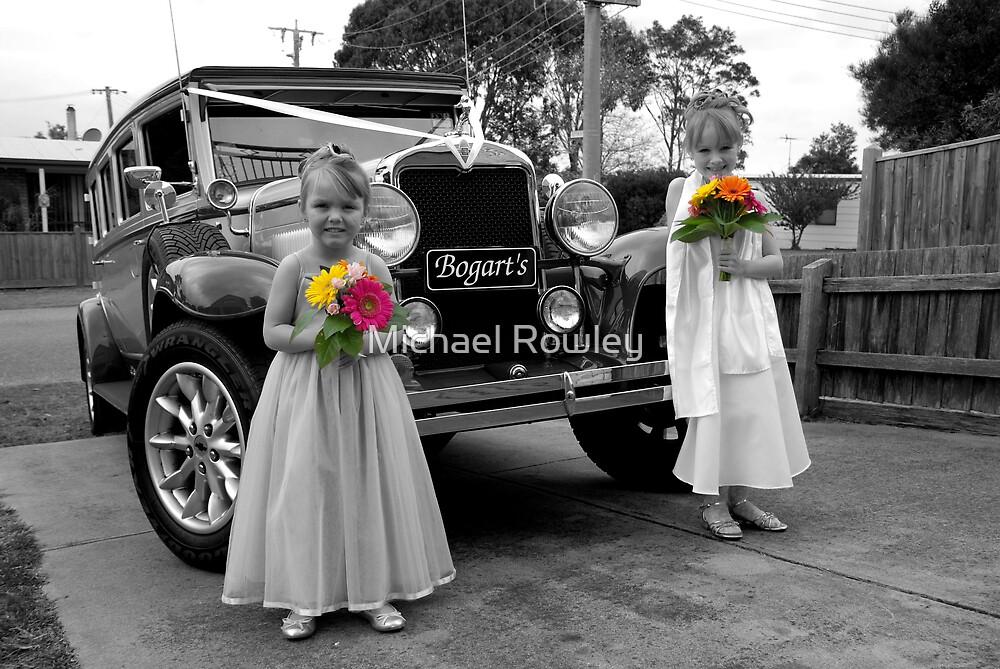 Flowergirls by Michael Rowley