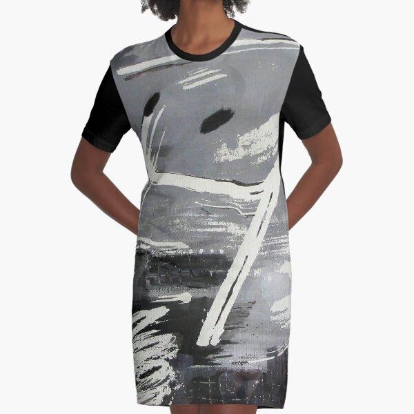 Symphonie en noir et blanc  Robe t-shirt