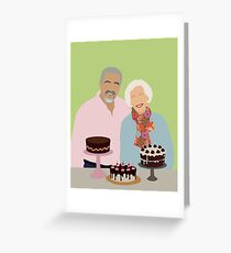 Great British Bake Off Greeting Card
