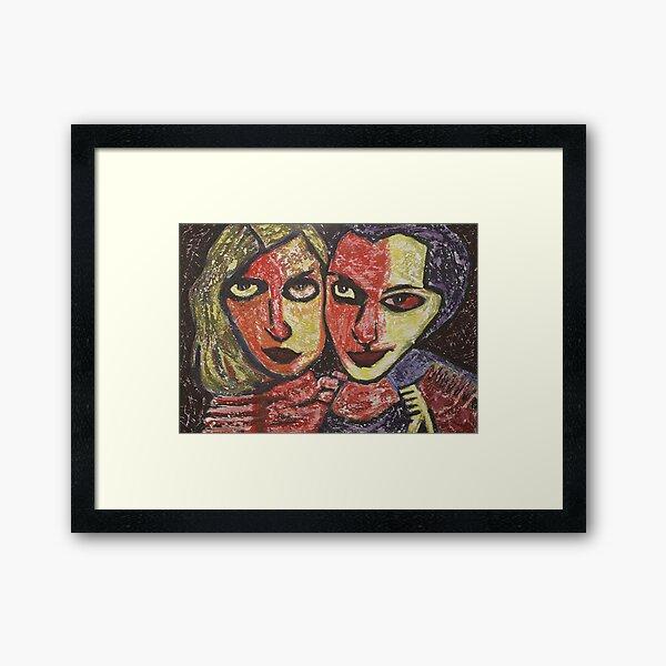 Anais and June Framed Art Print