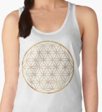 Flower of Life, sacred circle geometry Women's Tank Top