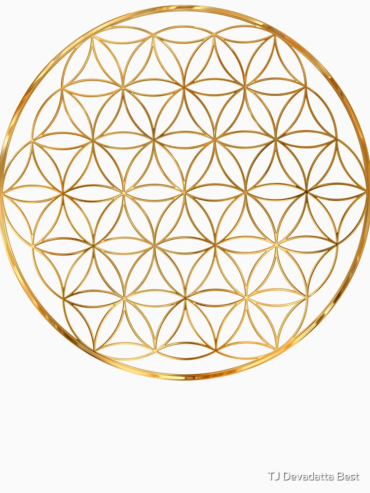 Flower of Life, sacred circle geometry by TJBest