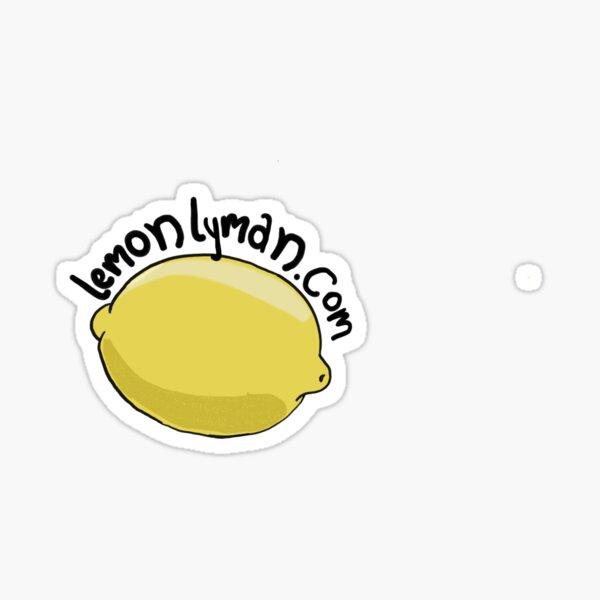 West Wing Lemon Lyman  Sticker