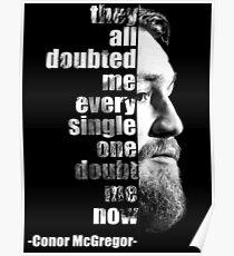 Conor Mcgregor Quote Posters Redbubble
