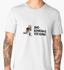 Bo Knows Tecmo Men's Premium T-Shirt