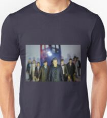 Doctor Who- Character Figures T-Shirt