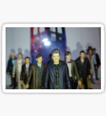 Doctor Who- Character Figures Sticker