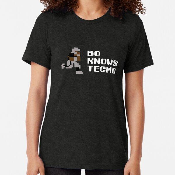 Bo Knows Tecmo Tri-blend T-Shirt