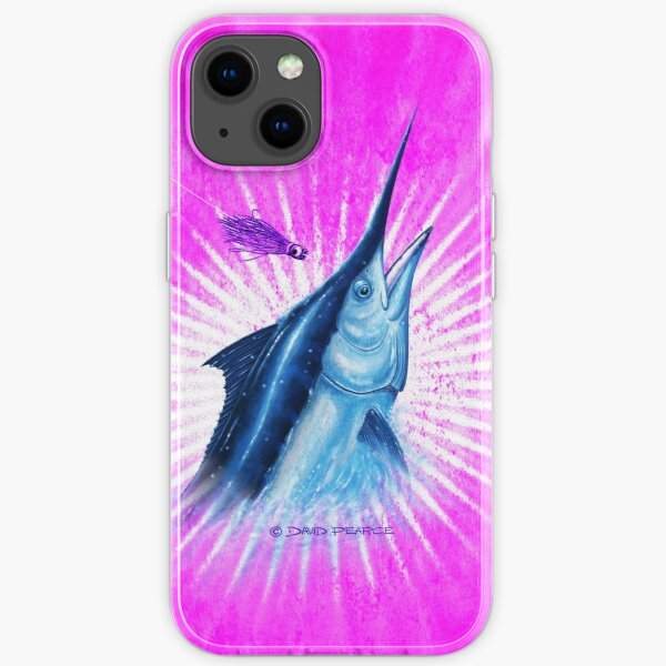 BLACK MAGIC PINK- Black Marlin iPhone Soft Case