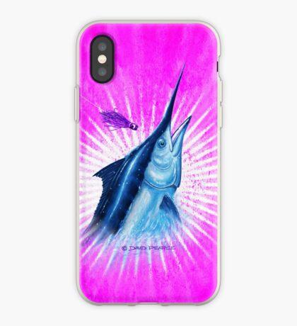 BLACK MAGIC PINK- Black Marlin iPhone Case