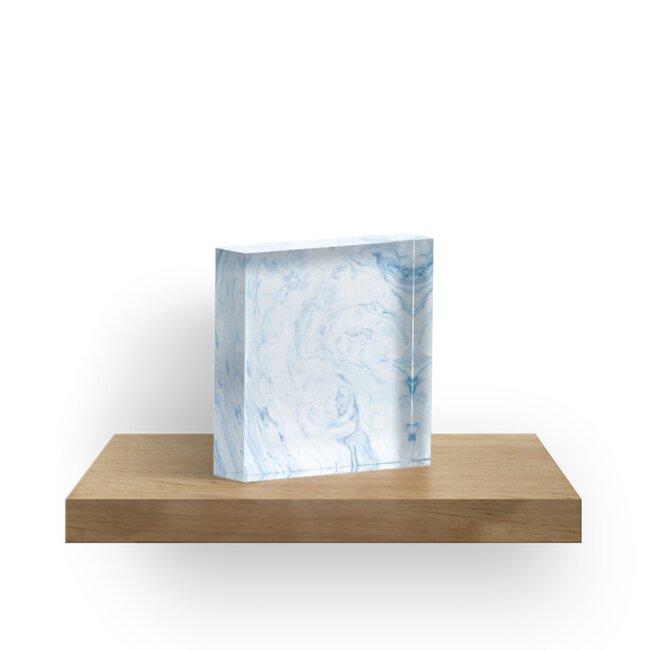 Blauer Marmor von kaki233