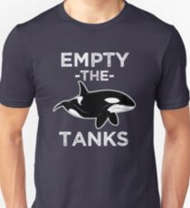 Empty the Tanks - Free the Orca Whales Shirt T-Shirt