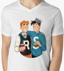 Archie and Jughead  Men's V-Neck T-Shirt