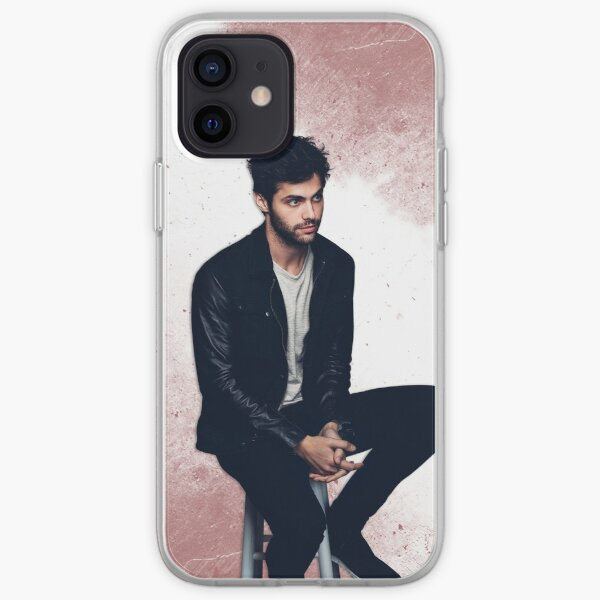 Matthew Daddario sitting iPhone Soft Case