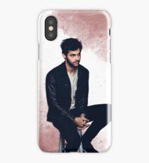 Matthew Daddario sitting iPhone Case/Skin