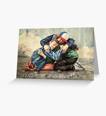 Eleven's Boys Greeting Card