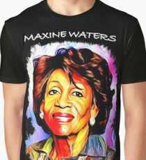 Maxine Waters Portrait - Reclaiming My Time Graphic T-Shirt