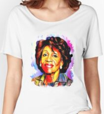 Maxine Waters Portrait - Reclaiming My Time Women's Relaxed Fit T-Shirt