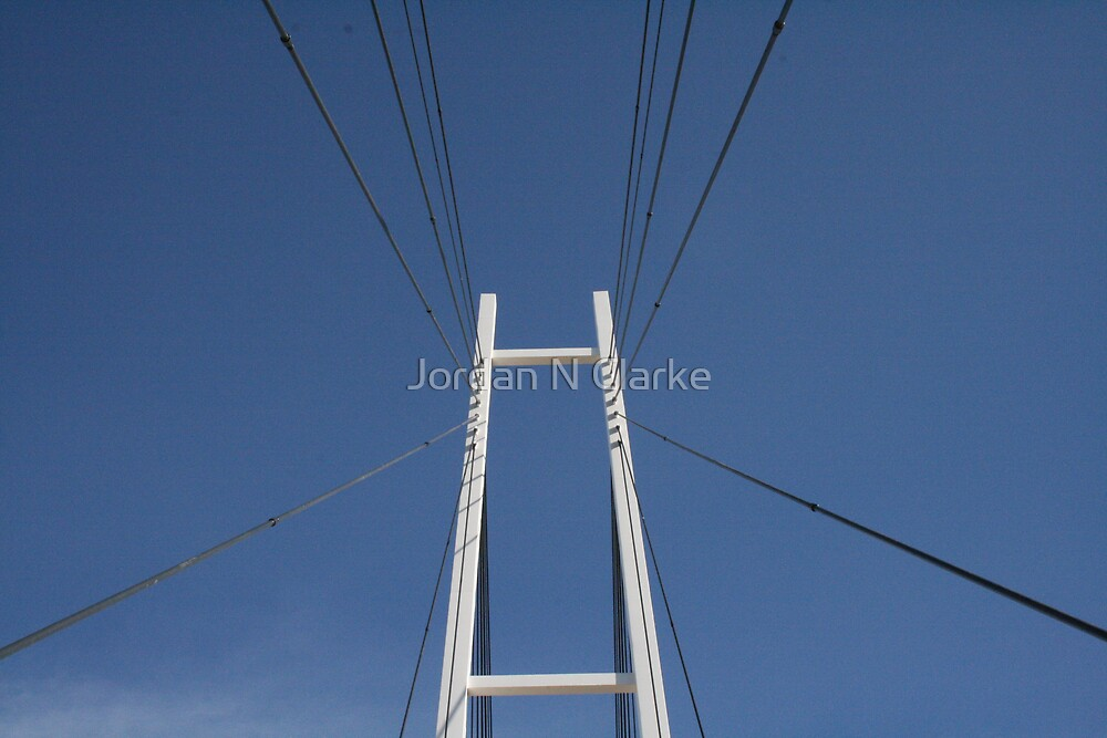 Albury Suspension Bridge #2 by Jordan N Clarke