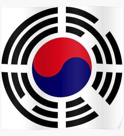 Korean Patriot Flag Series  Poster