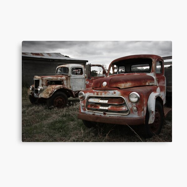 Two old timers Canvas Print