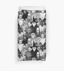 Horror Monsters Duvet Cover