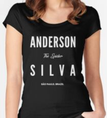 Anderson Silva Women's Fitted Scoop T-Shirt