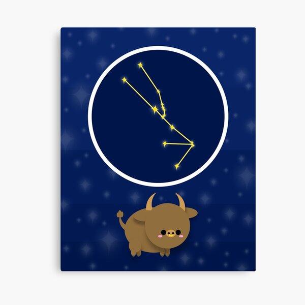 Zodiac constellation, TAURUS Canvas Print