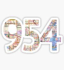 954  Sticker