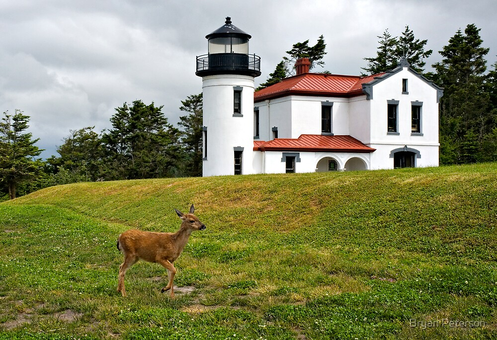 Admiralty Head Lighthouse by Bryan Peterson
