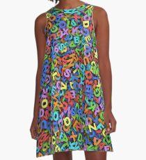 Alphabet A-Line Dress