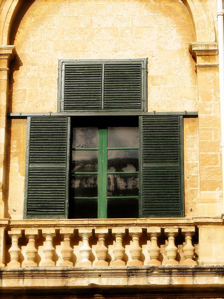 Window Into The Palace  by HelenBanham