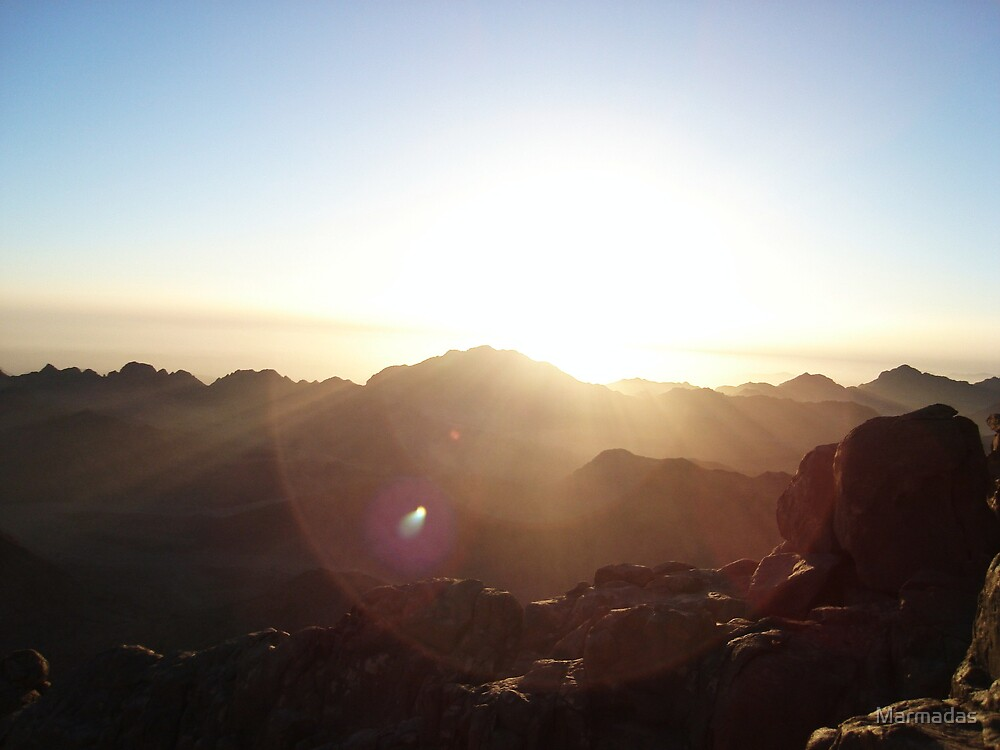 Dawn on Sinai by Marmadas