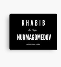 Khabib Nurmagomedov Canvas Print