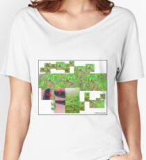 Ladybug collage Women's Relaxed Fit T-Shirt