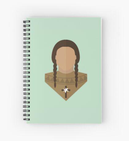 St. Kateri Tekakwitha Spiral Notebook