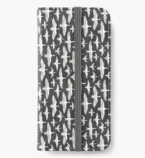 Flying White Birds iPhone Wallet