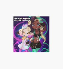 Splatoon 2 Pearl and Marnia Art Board