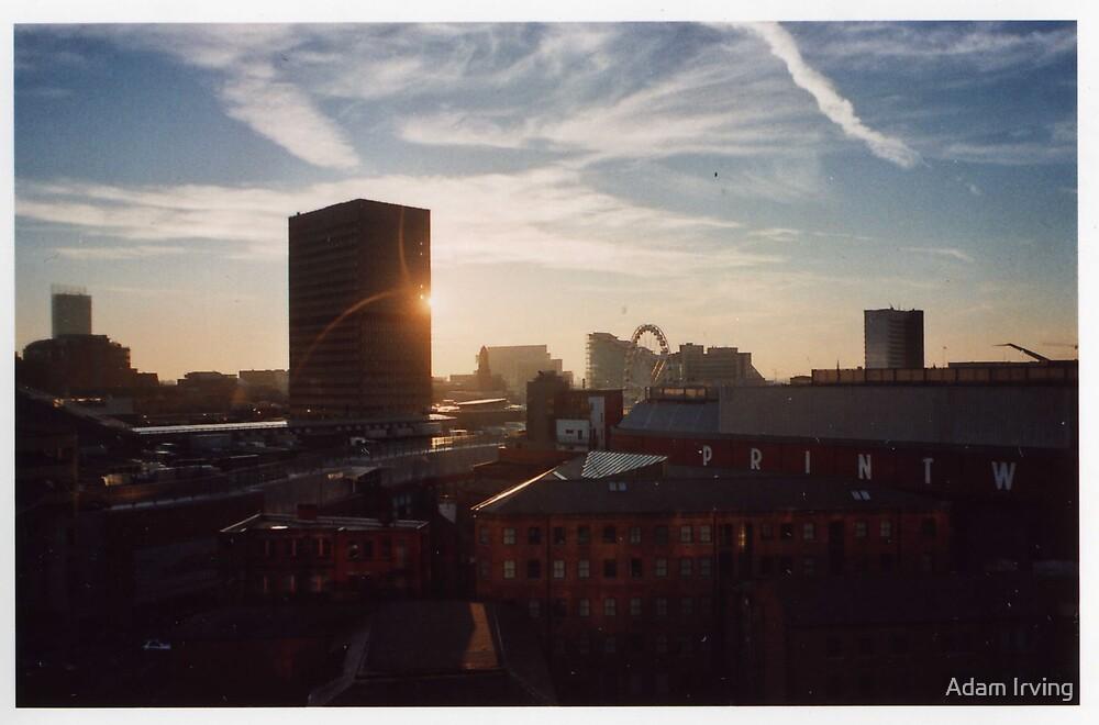 Manchester skyline by Adam Irving