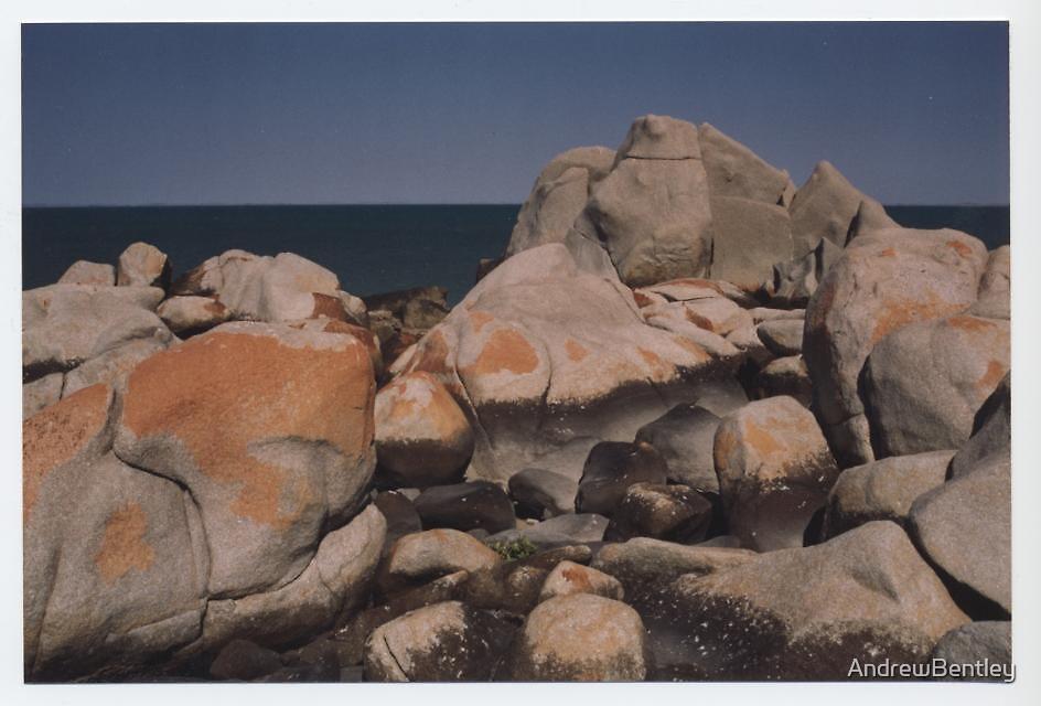 Beach rocks Dampier WA by AndrewBentley