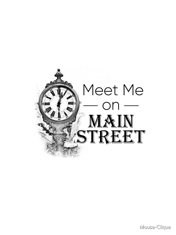 Meet Me On Main Street by Mouse-Clique