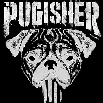 PUGISHER by darklordpug