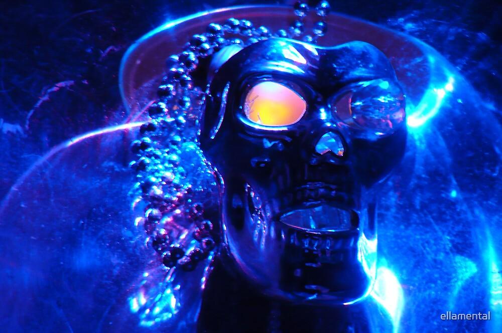 Mr. Icy Blue by ellamental