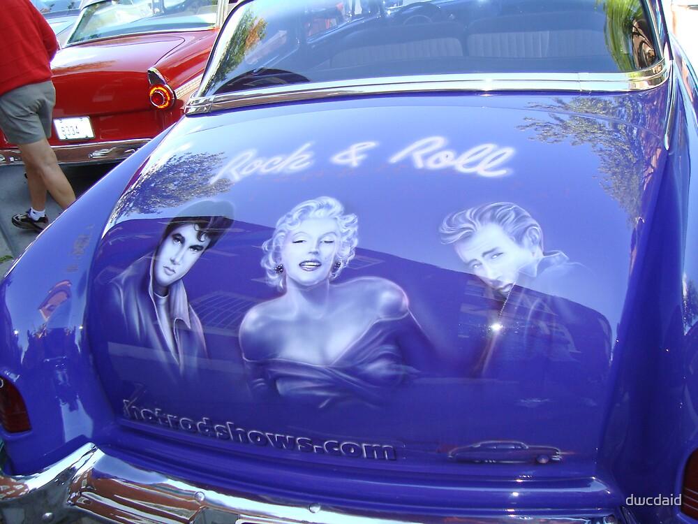 Elvis, Marilyn & James Dean by dwcdaid