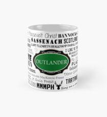 Outlander Becher (grün) Tasse (Standard)