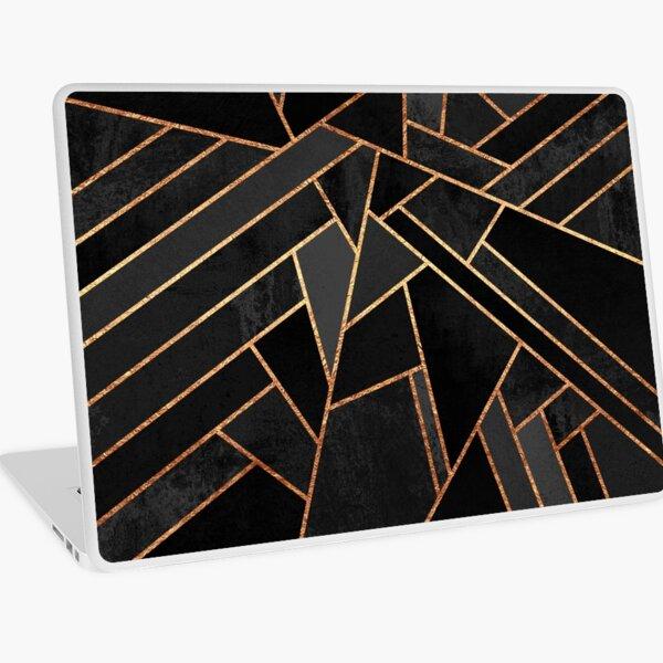 Black Night Laptop Skin