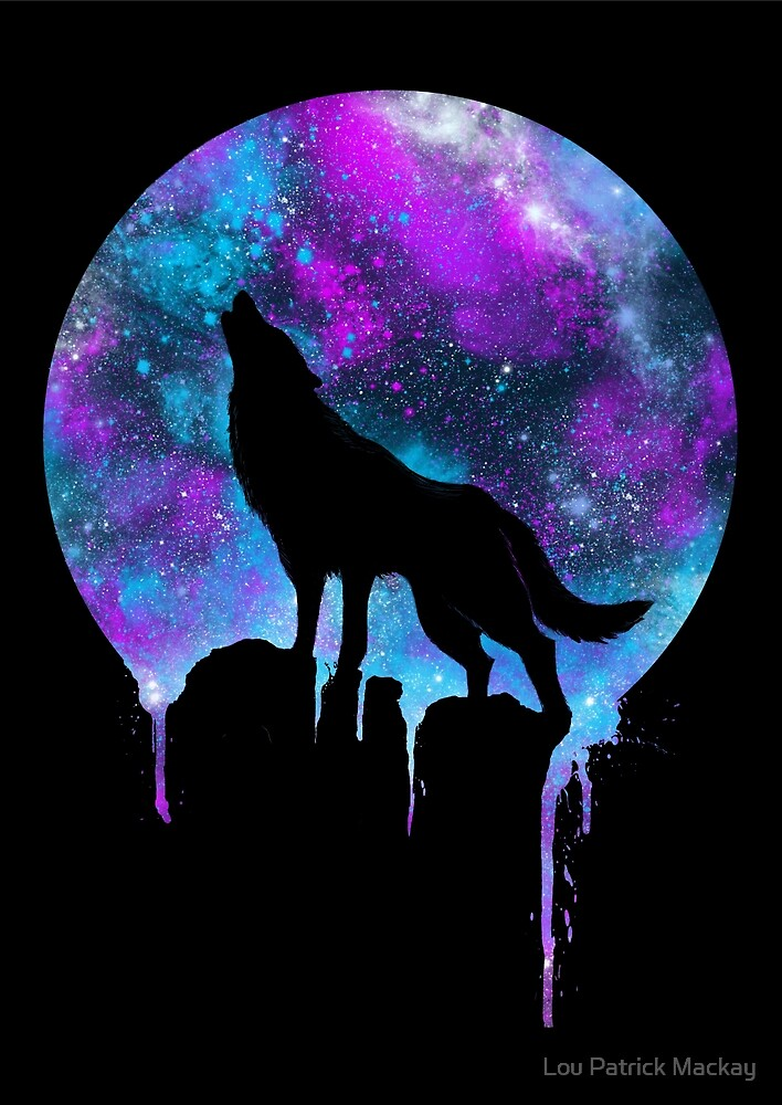 Quot Space Howl Quot By Lou Patrick Mackay Redbubble