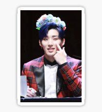 Jongup Flower Crown Sticker