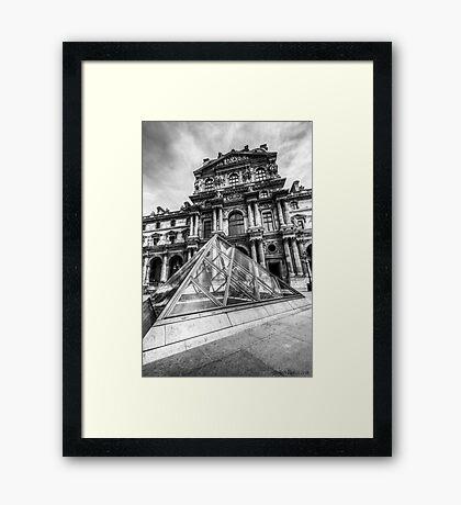 Musee du Louvre, Paris 5 Framed Print